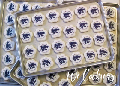Commissioned K-State cookies image found on home page of WeCookiers.com